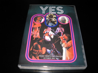 Yes - Live Hemel Hempstead Pavillion October 3rd 1971